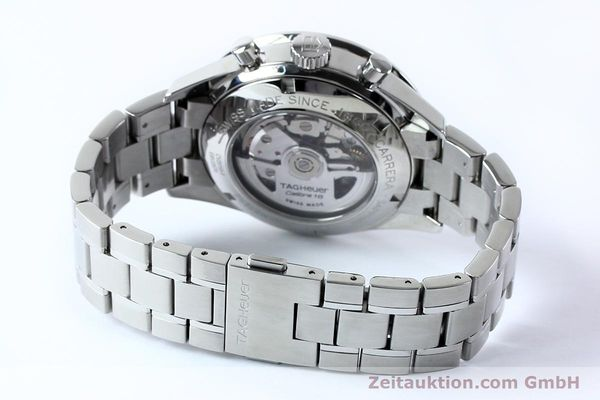Used luxury watch Tag Heuer Carrera chronograph steel automatic Kal. 16 ETA 7750 Ref. CV20103  | 151956 14