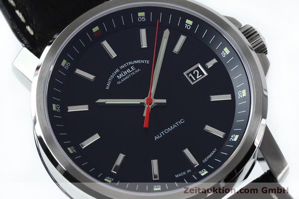 Used luxury watch Mühle 29er Big steel automatic Kal. SW200 Ref. M1-25-30  | 151962 02