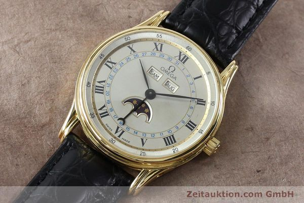 Used luxury watch Omega * 18 ct gold automatic Kal. 715 Ref. 156.003  | 151963 01