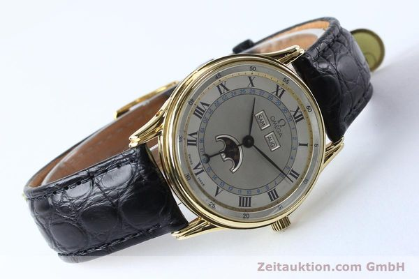 Used luxury watch Omega * 18 ct gold automatic Kal. 715 Ref. 156.003  | 151963 03