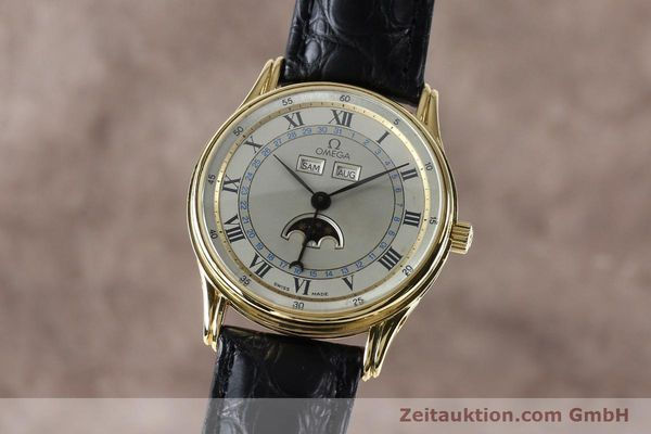 Used luxury watch Omega * 18 ct gold automatic Kal. 715 Ref. 156.003  | 151963 04