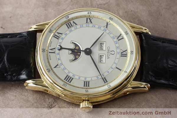 Used luxury watch Omega * 18 ct gold automatic Kal. 715 Ref. 156.003  | 151963 05