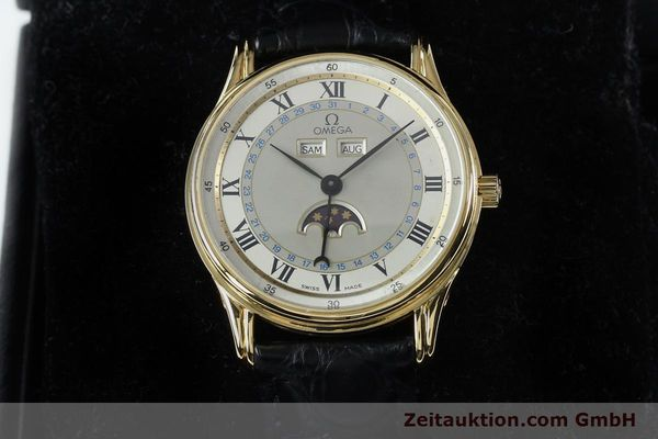 Used luxury watch Omega * 18 ct gold automatic Kal. 715 Ref. 156.003  | 151963 07