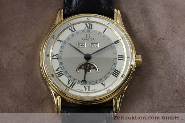 Used luxury watch Omega * 18 ct gold automatic Kal. 715 Ref. 156.003  | 151963 13