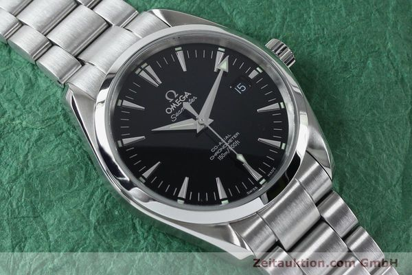 Used luxury watch Omega Seamaster steel automatic Kal. 2500B  | 151964 15