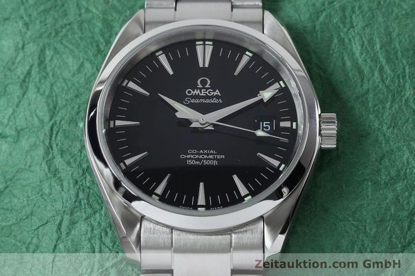 Used luxury watch Omega Seamaster steel automatic Kal. 2500B  | 151964 16