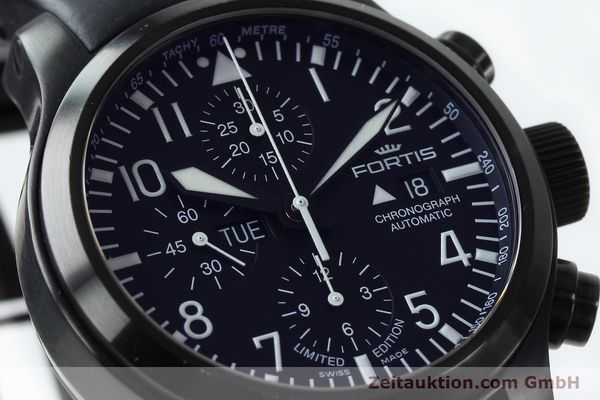 Used luxury watch Fortis B-42 chronograph steel automatic Kal. ETA 7750 Ref. 656.18.141 LIMITED EDITION | 151966 02