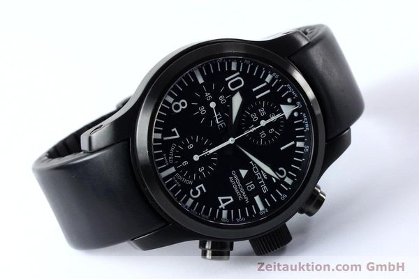 Used luxury watch Fortis B-42 chronograph steel automatic Kal. ETA 7750 Ref. 656.18.141 LIMITED EDITION | 151966 03