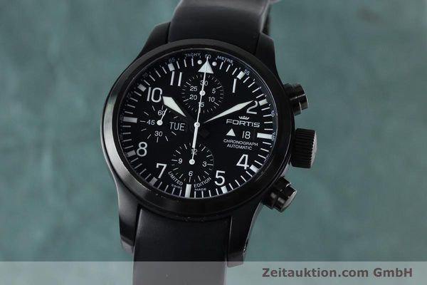 Used luxury watch Fortis B-42 chronograph steel automatic Kal. ETA 7750 Ref. 656.18.141 LIMITED EDITION | 151966 04
