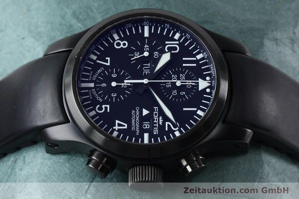 Used luxury watch Fortis B-42 chronograph steel automatic Kal. ETA 7750 Ref. 656.18.141 LIMITED EDITION | 151966 05