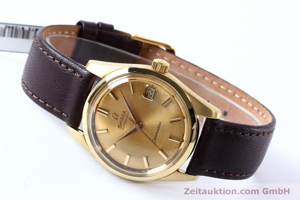 Used luxury watch Omega Seamaster 18 ct gold automatic Kal. 562 VINTAGE  | 151968 02
