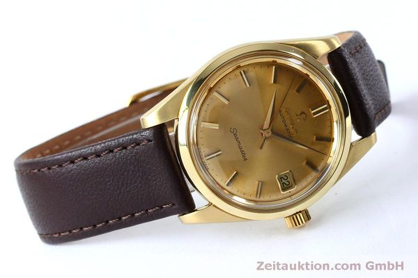 Used luxury watch Omega Seamaster 18 ct gold automatic Kal. 562 VINTAGE  | 151968 03