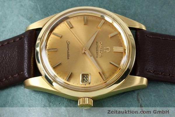 Used luxury watch Omega Seamaster 18 ct gold automatic Kal. 562 VINTAGE  | 151968 05