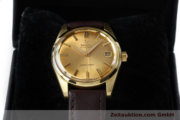Used luxury watch Omega Seamaster 18 ct gold automatic Kal. 562 VINTAGE  | 151968 07