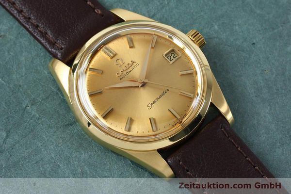 Used luxury watch Omega Seamaster 18 ct gold automatic Kal. 562 VINTAGE  | 151968 13