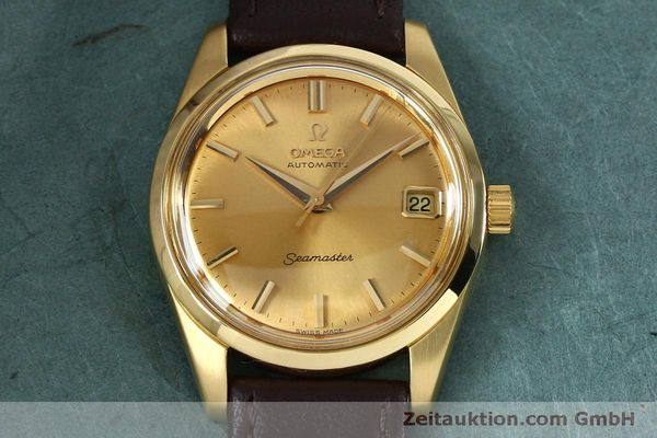 Used luxury watch Omega Seamaster 18 ct gold automatic Kal. 562 VINTAGE  | 151968 14