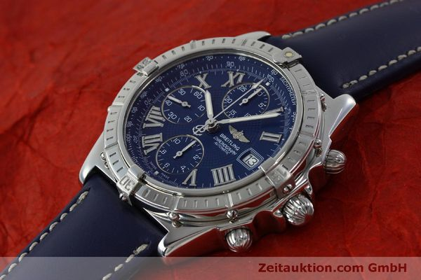 Used luxury watch Breitling Crosswind chronograph steel automatic Kal. B13 ETA 7750 Ref. A13055  | 151974 01