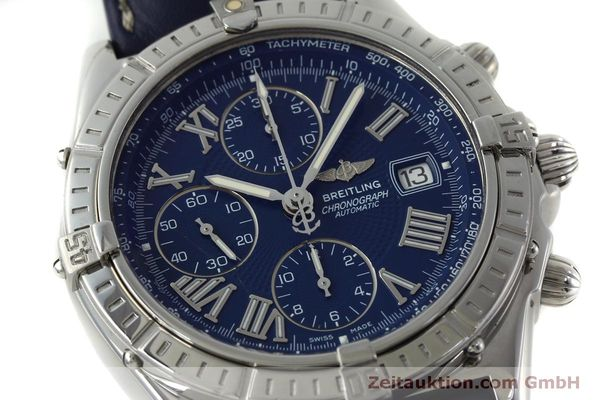 Used luxury watch Breitling Crosswind chronograph steel automatic Kal. B13 ETA 7750 Ref. A13055  | 151974 02