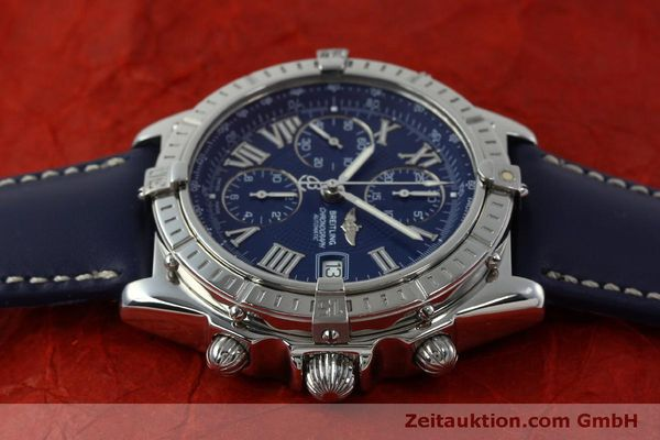 Used luxury watch Breitling Crosswind chronograph steel automatic Kal. B13 ETA 7750 Ref. A13055  | 151974 05