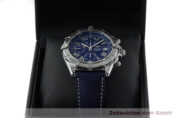 Used luxury watch Breitling Crosswind chronograph steel automatic Kal. B13 ETA 7750 Ref. A13055  | 151974 07