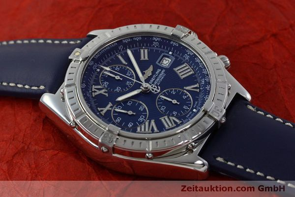 Used luxury watch Breitling Crosswind chronograph steel automatic Kal. B13 ETA 7750 Ref. A13055  | 151974 13