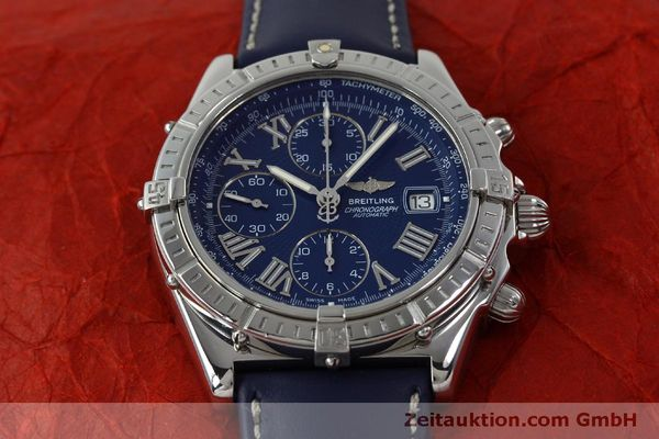 Used luxury watch Breitling Crosswind chronograph steel automatic Kal. B13 ETA 7750 Ref. A13055  | 151974 14