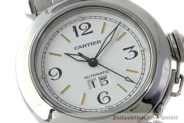 Used luxury watch Cartier Pasha steel automatic Kal. 052 ETA 2892A2  | 151975 02