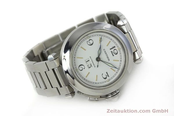Used luxury watch Cartier Pasha steel automatic Kal. 052 ETA 2892A2  | 151975 03