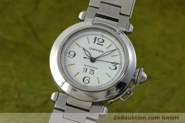 Used luxury watch Cartier Pasha steel automatic Kal. 052 ETA 2892A2  | 151975 04