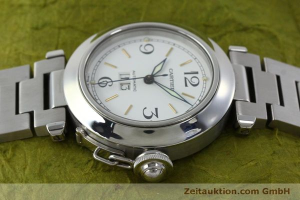 Used luxury watch Cartier Pasha steel automatic Kal. 052 ETA 2892A2  | 151975 05