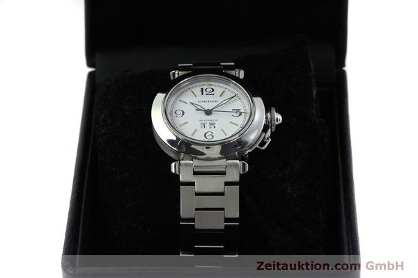 Used luxury watch Cartier Pasha steel automatic Kal. 052 ETA 2892A2  | 151975 07
