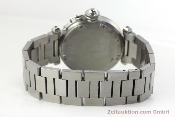 Used luxury watch Cartier Pasha steel automatic Kal. 052 ETA 2892A2  | 151975 09