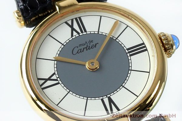 Used luxury watch Cartier Vermeil silver-gilt quartz Kal. 90  | 151977 02