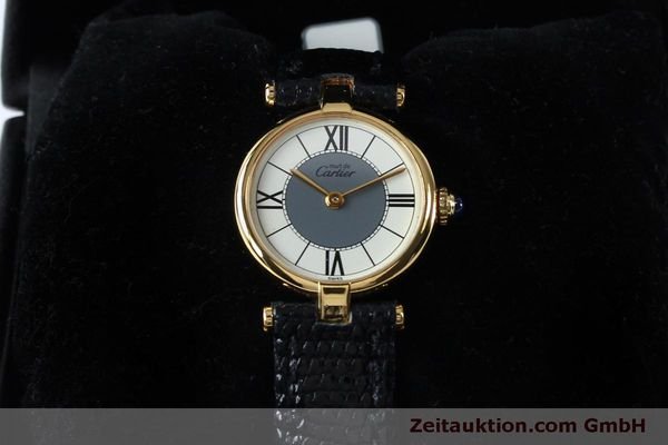 Used luxury watch Cartier Vermeil silver-gilt quartz Kal. 90  | 151977 07