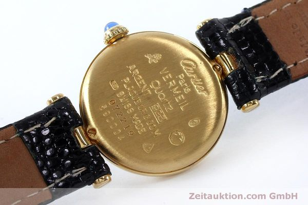 Used luxury watch Cartier Vermeil silver-gilt quartz Kal. 90  | 151977 09