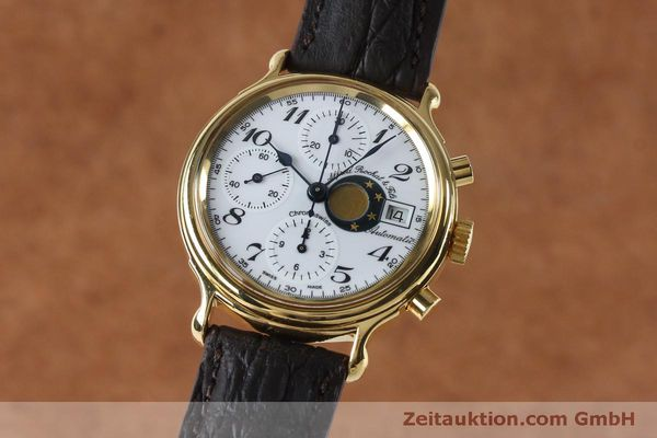 Used luxury watch Chronoswiss A. Rochat chronograph gold-plated automatic Kal. Val 7750 Ref. 77.500  | 151986 04