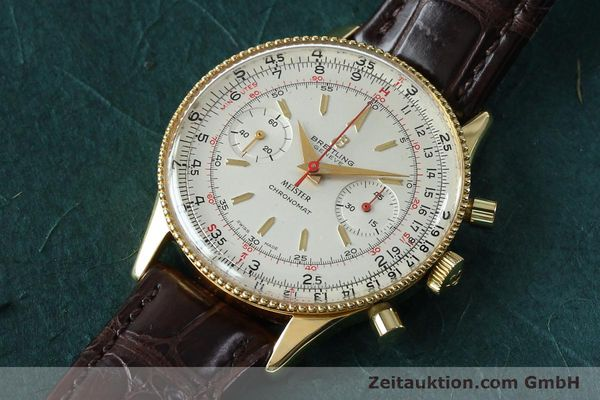 Used luxury watch Breitling Chronomat chronograph gold-plated manual winding Kal. Venus 175 Ref. 808 VINTAGE  | 151987 01