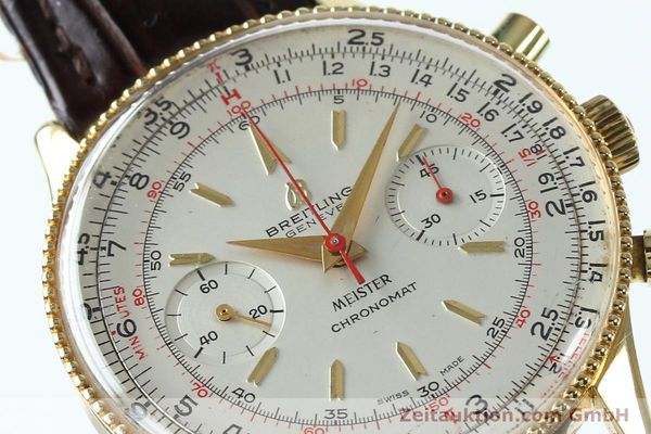 Used luxury watch Breitling Chronomat chronograph gold-plated manual winding Kal. Venus 175 Ref. 808 VINTAGE  | 151987 02