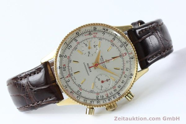 Used luxury watch Breitling Chronomat chronograph gold-plated manual winding Kal. Venus 175 Ref. 808 VINTAGE  | 151987 03