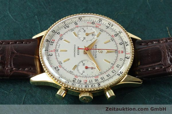 Used luxury watch Breitling Chronomat chronograph gold-plated manual winding Kal. Venus 175 Ref. 808 VINTAGE  | 151987 05