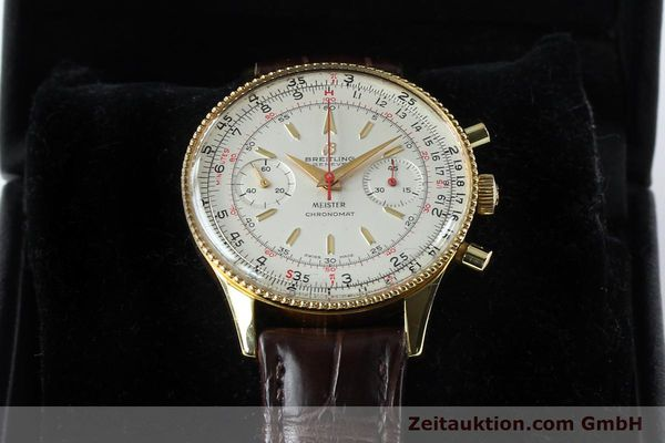 Used luxury watch Breitling Chronomat chronograph gold-plated manual winding Kal. Venus 175 Ref. 808 VINTAGE  | 151987 07