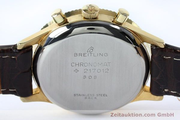Used luxury watch Breitling Chronomat chronograph gold-plated manual winding Kal. Venus 175 Ref. 808 VINTAGE  | 151987 11