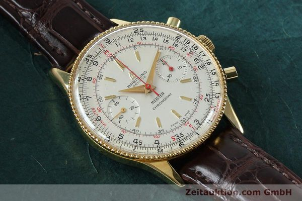 Used luxury watch Breitling Chronomat chronograph gold-plated manual winding Kal. Venus 175 Ref. 808 VINTAGE  | 151987 13