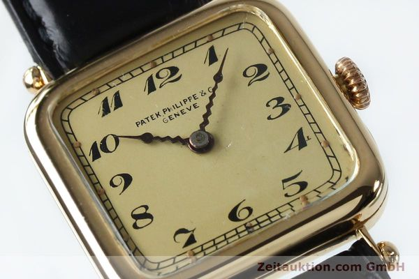 Used luxury watch Patek Philippe * 18 ct gold manual winding Ref. 284653 VINTAGE  | 151988 02