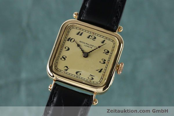 Used luxury watch Patek Philippe * 18 ct gold manual winding Ref. 284653 VINTAGE  | 151988 04