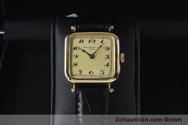 Used luxury watch Patek Philippe * 18 ct gold manual winding Ref. 284653 VINTAGE  | 151988 07