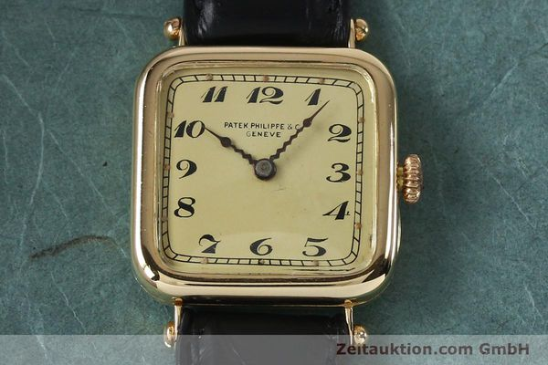 Used luxury watch Patek Philippe * 18 ct gold manual winding Ref. 284653 VINTAGE  | 151988 14