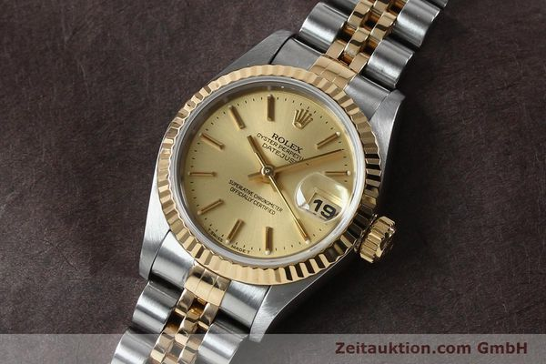 Used luxury watch Rolex Lady Datejust steel / gold automatic Kal. 2135 Ref. 69173  | 151994 01