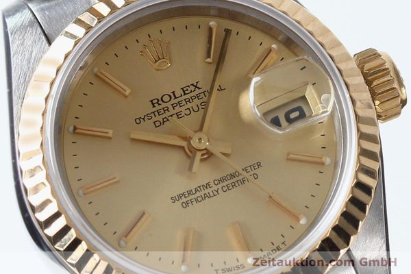 Used luxury watch Rolex Lady Datejust steel / gold automatic Kal. 2135 Ref. 69173  | 151994 02