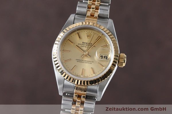 Used luxury watch Rolex Lady Datejust steel / gold automatic Kal. 2135 Ref. 69173  | 151994 04